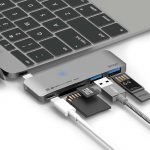 Elago Aluminum Charging Multy Hub USB-C - Space Gray_2