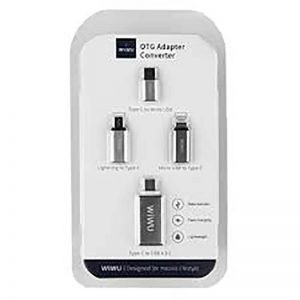 WIWU OTG Aluminum Adapter Pack 4 in 1_1