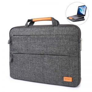 WIWU Smart Stand Sleeve Bag ForMacbook 15 Gray_1