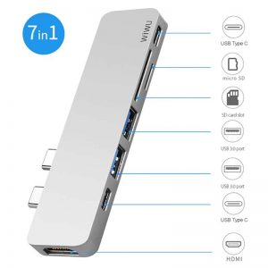 WIWU USB Type-c 7 in 1 Hub Aluminum Case_2