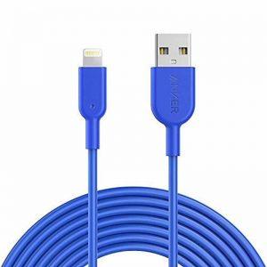 Anker PowerLine II Lightning (3m/10ft) -Blue_alpha store kuwait best online store