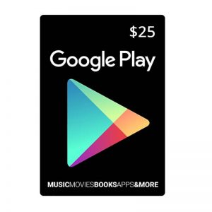 Google Play Gift Card $25_alpha Store Kuwait