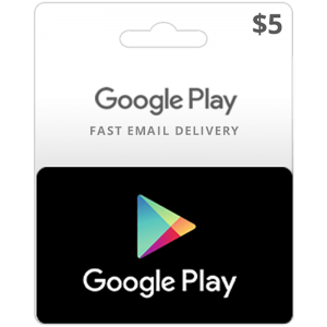 Google Play Gift Card $5_alpha Store Kuwait