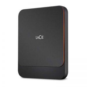 LaCie 1TB LACIE PORTABLE SSD USB 3.1 & USB-C (3-year warranty)_1_alpha store Kuwait