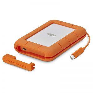 LaCie Rugged 1TB USB3 & USB-C & Thunderbolt2 SSD_alpha store Kuwait