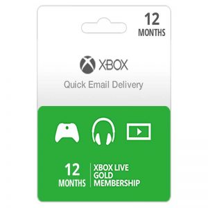 Xbox Live (US/EU) Gold 12 Months Subscription_alpha Store Kuwait