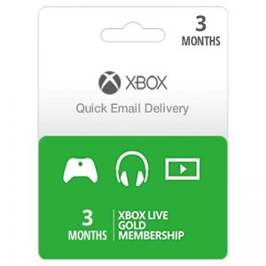 Xbox Live (US/EU) Gold 3 Months Subscription__alpha Store Kuwait