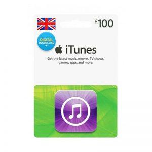 iTunes Gift Card £ 100 [UK]_alpha Store Kuwait