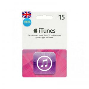 iTunes Gift Card £ 15 [UK]_alpha Store Kuwait