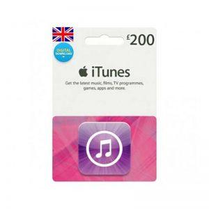 iTunes Gift Card £ 200 [UK]_alpha Store Kuwait