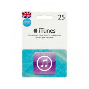 iTunes Gift Card £ 25 [UK]_alpha Store Kuwait