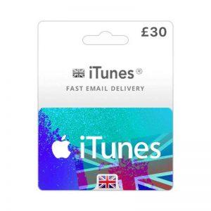 iTunes Gift Card £ 30 [UK]_alpha Store Kuwait