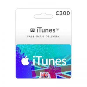 iTunes Gift Card £ 300 [UK]_alpha Store Kuwait