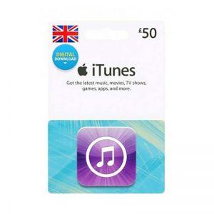 iTunes Gift Card £ 50 [UK]_alpha Store Kuwait