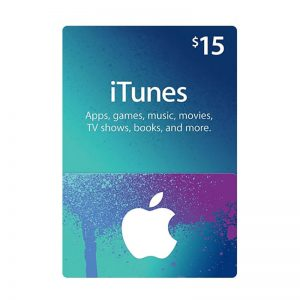 iTunes USD 15 Gift Card Code [US]