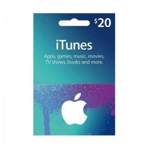 iTunes USD 20 Gift Card Code [US]_alpha Store Kuwait