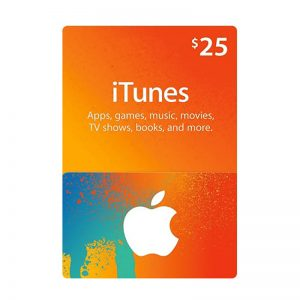 iTunes USD 25 Gift Card Code [US]