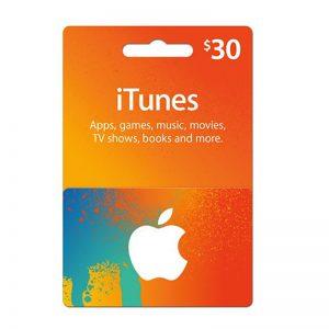 iTunes USD 30 Gift Card Code [US]_alpha Store Kuwait