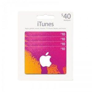 iTunes USD 40 Gift Card Code [US]_alpha Store Kuwait