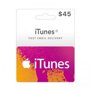 iTunes USD 45 Gift Card Code [US]_alpha Store Kuwait