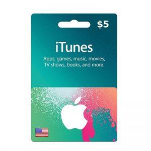 iTunes USD 5 Gift Card Code [US]_alpha Store Kuwait