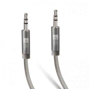 Case Logic AUX Cable- Fabric00FT-Grey_alpha store online shopping Kuwait