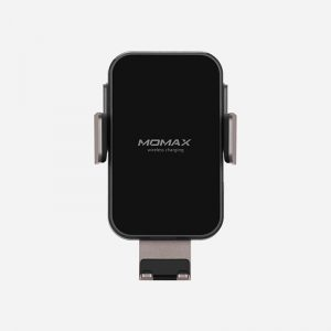Momax Q.Mount Clamping Wireless Charging Car-Black_alpha Store Online Shopping Kuwait