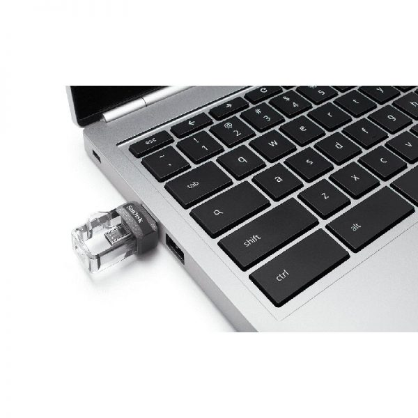 SanDisk Ultra Dual Drive m3.0 32GB Grey & Silver