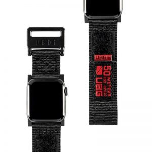 "UAG Apple Watch 40""/38"" Active Strap- Black"