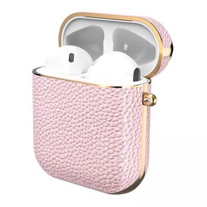 Gaze Leather AirPods Case - Pink