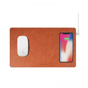 Gaze Pad Pro Wireless Charger - Brown