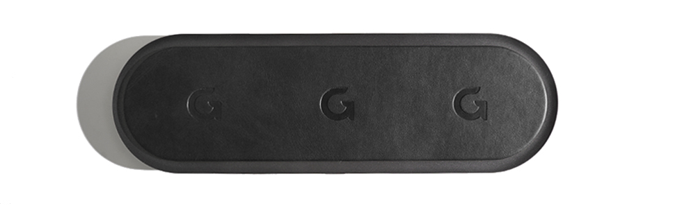 Gaze triple pad classic wireless charger - Brown