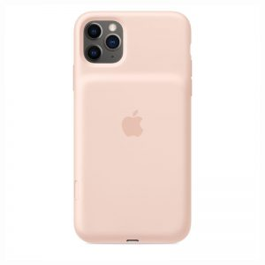Apple iPhone 11 Pro Max Smart Battery Case with Wireless Charging - Pink Sand_1_alpha store online shopping in kuwait