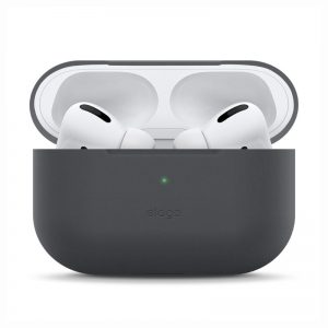 Elago AirPods Pro Slim Case - Dark Gray_1_alpha store online shopping in kuwait