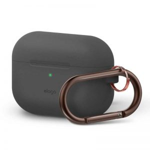 Elago AirPods Pro Slim Hang Case - Dark Gray_1_alpha store online shopping in kuwait