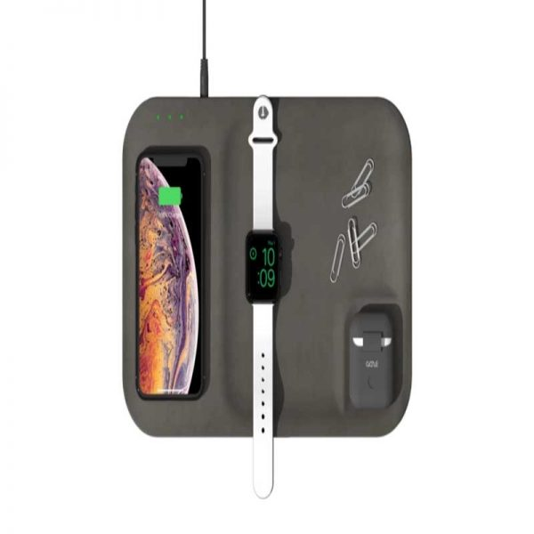 Gaze Tray Classic Wireless Charger - Gray