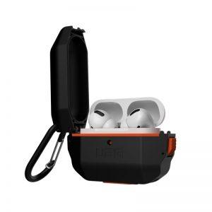 UAG Apple Airpods Pro Hardcase Case - Black:Orange_2_alpha store online shopping in kuwait