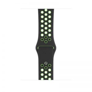 44mm Nike Sport Loop, Color- Black Lime Blast -Regular_alphastore_kuwait