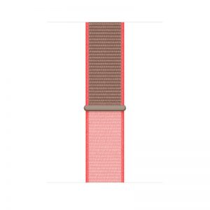 44mm Sport Loop, Color- Neon Pink_alphastore_kuwait