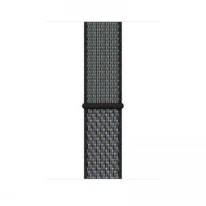 44mm Nike Sport Loop, Color- World Indigo Lime Blast_alphastore_kuwait