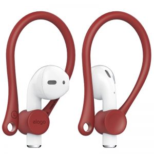 Elago Earhook for apple Airpods - Red_alphastore_kuwait