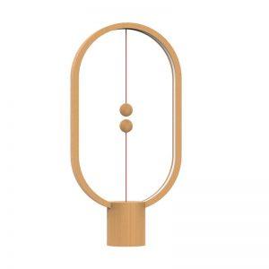 Heng Balance Lamp Ellipse USB - LIGHT WOOD