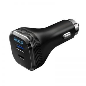 IWALK CAR CHARGER POWER DELIVERY & QC 3.0