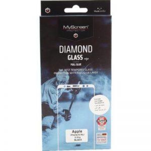 MyScreen DIAMOND GLASS edge Full Glue Black 11 XR