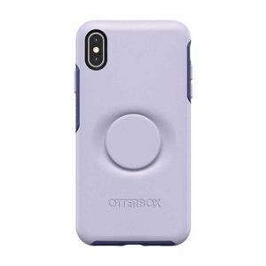 Otter + Pop Symmetry Apple iPhone Xs Max -Purple_alphastore_kuwait