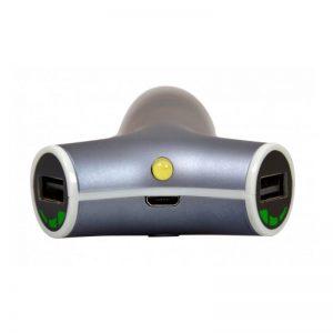 PORT CAR CHARGER & POWERBANK 2 USB 2200 MAH2_alphastore_kuwait
