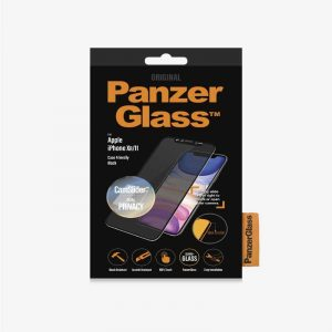 PanzerGlass iP XR/11 CF CamSlider Privacy Black_alphastore_kuwait