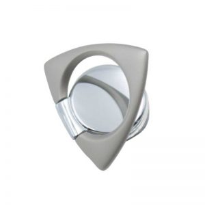 Ring Spinner Buckle Triangle and Spinner Silver