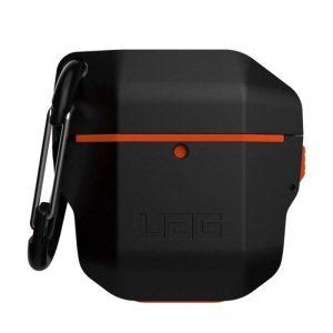 UAG Apple Airpods Hardcase Case - Black Orange