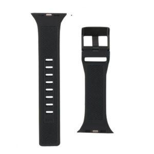 UAG Apple Watch 44mm:42mm (24mm Lugs) Scout strap Black